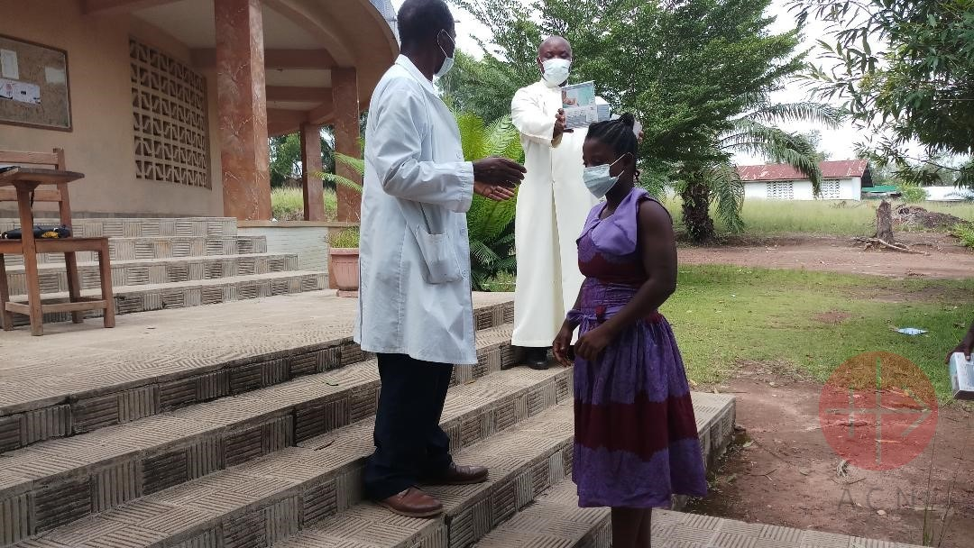 Liberia Diocese of Gbarnga Immaculate Heart of Mary Parish Covid19 Safety precautions