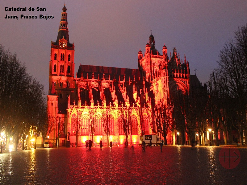 Red week St. John's Cathedral, 's-Hertogenbosch 28th November 2018 web