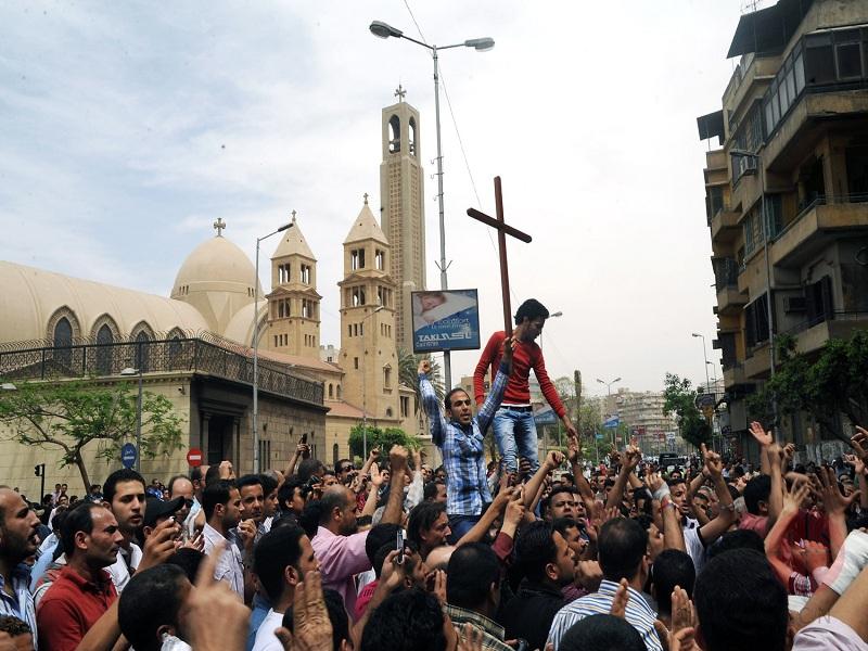 Egipto funeral de victimas de la violencia web