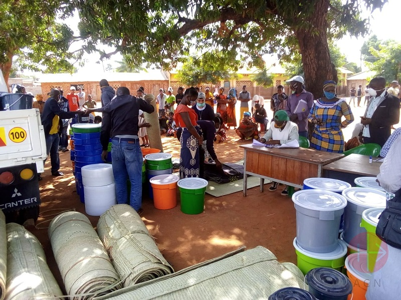 Mozambique IDP Nampula personas desplazadas por ataques de ISIS web