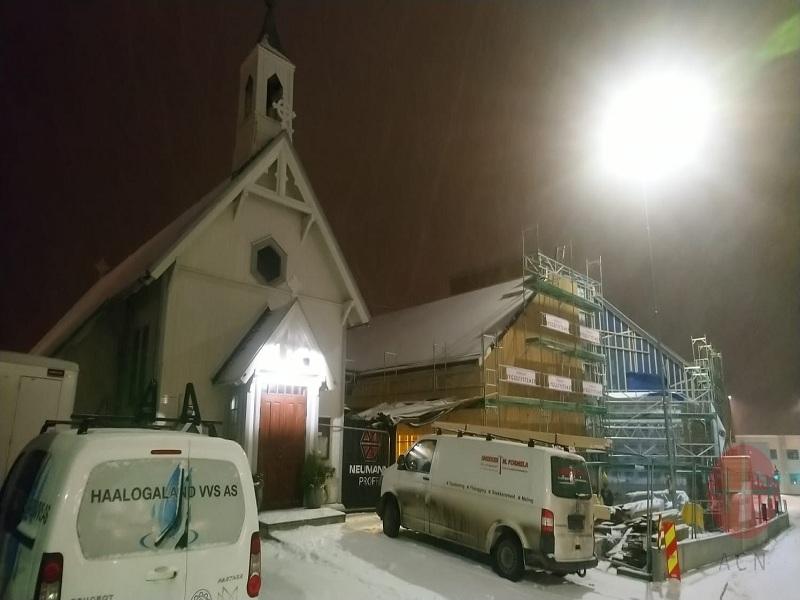 Noruega trabajos Construction of a presbytery convent and parish hall in St Sunniva Parish web