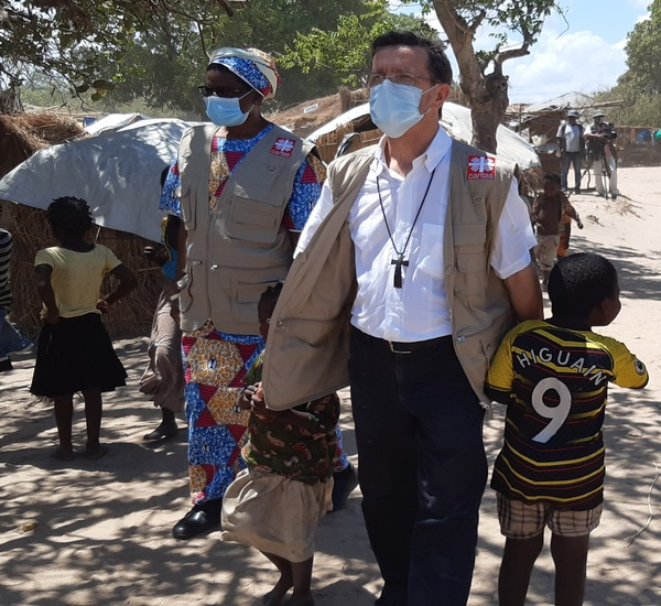 Situation in the refugee settlements in the diocese of Pemba – Mozambique December 2020