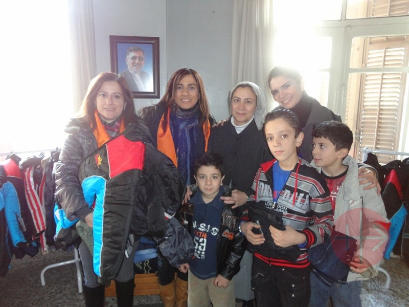Siria Alepo regalos de Navidad para los niños web