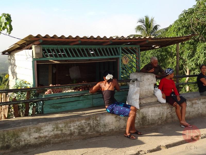 Cuba puesto de la calle web