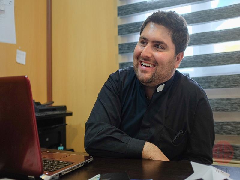 Irak Mar Elia padre Daniel web