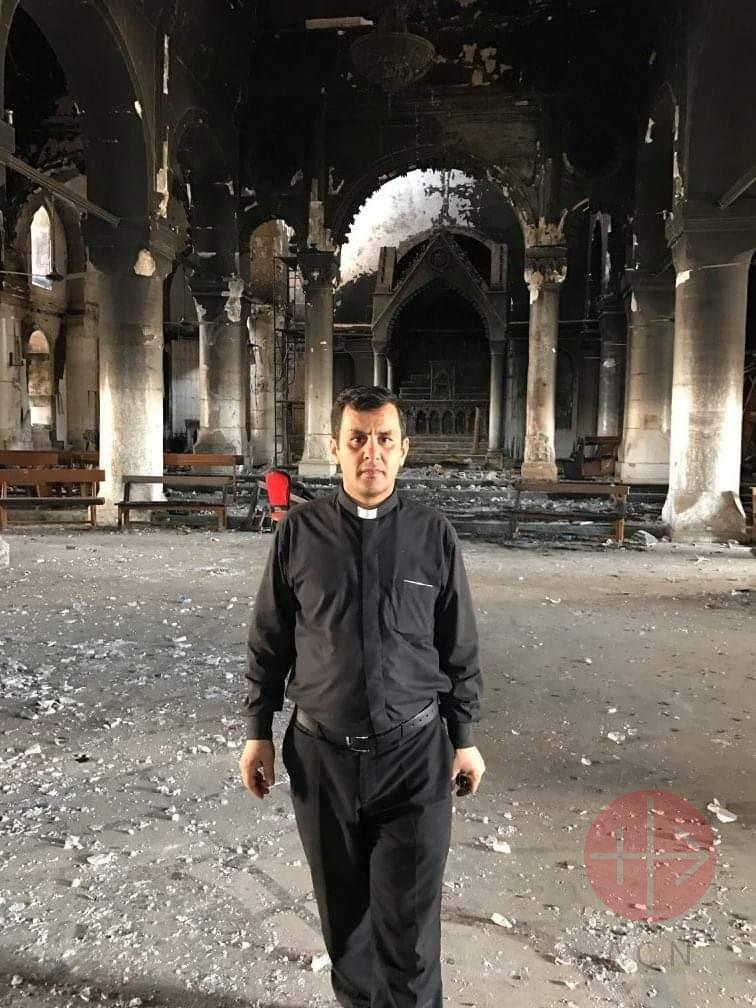 Irak padre Ammar Yako