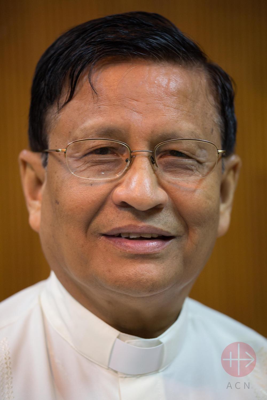Myanmar Cardinal Charles Bo archbishop of Yangon
