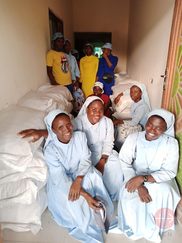 Nigeria apoyo para postulantes y novicias
