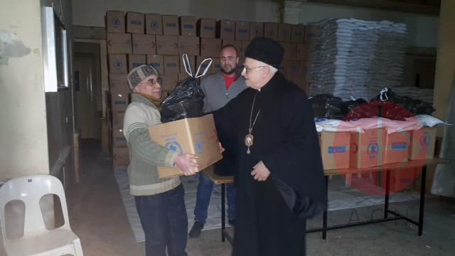 Siria Archbishop Jean Clément Jeanbart.