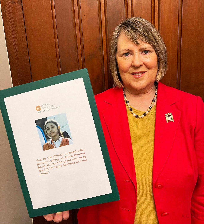 UK Fiona Bruce representante de la libertad religiosa