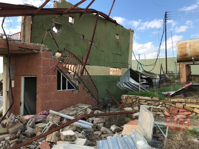 Irak Mosul reconstrucción del salon de St Mary in Bashiqa 2 web