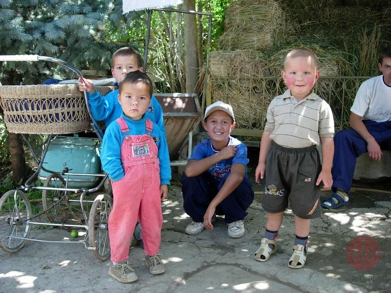Kirguistán niños web