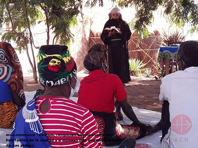 Mozambique Pemba religiosa hace liturgia web