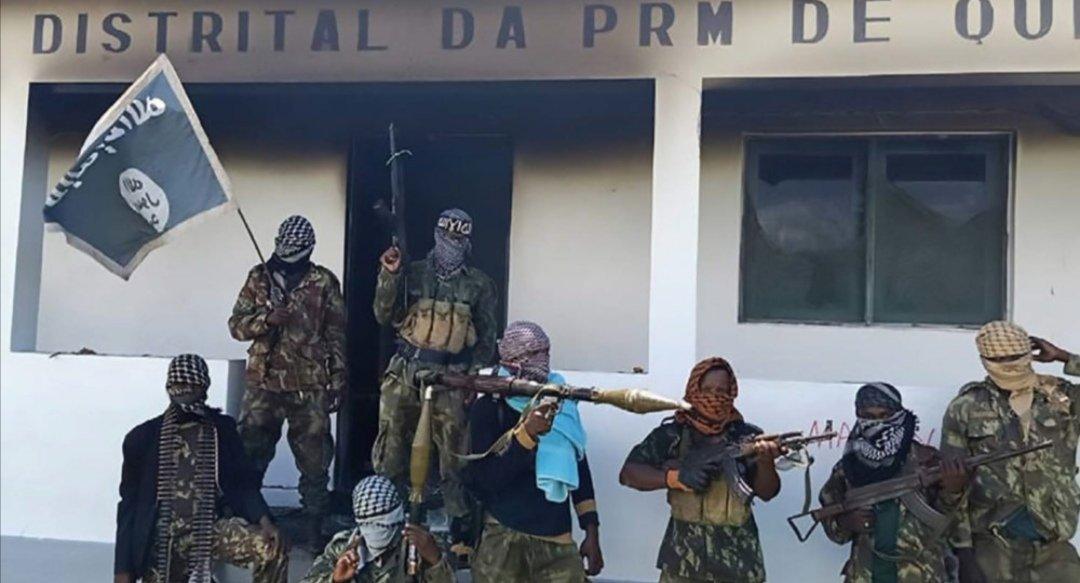 Mozambique hombres armados