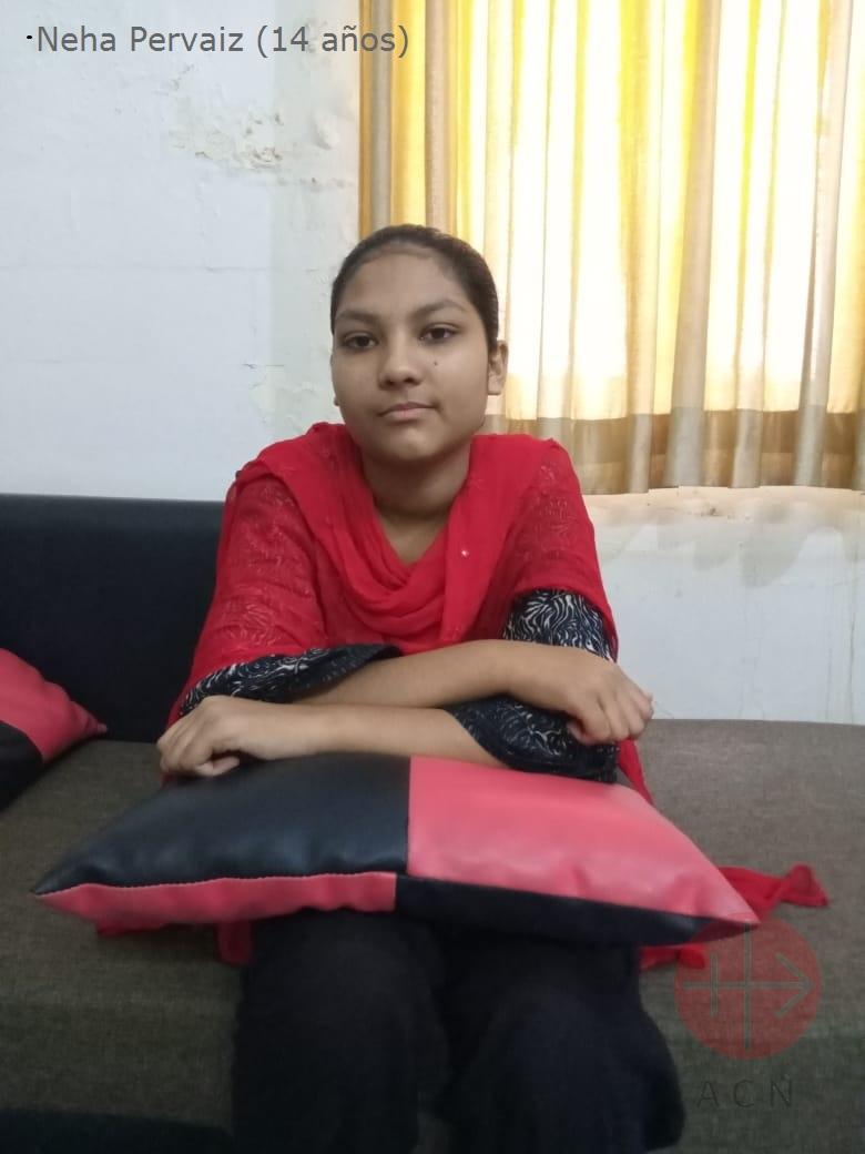 Pakistán niña secuestrada Neha Pervaiz 14