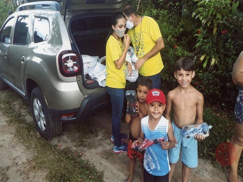 Brasil distribución de canastas y juguetes web