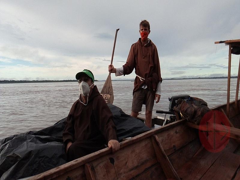 Brasil frailes capuchinos menores en el Amazonas web