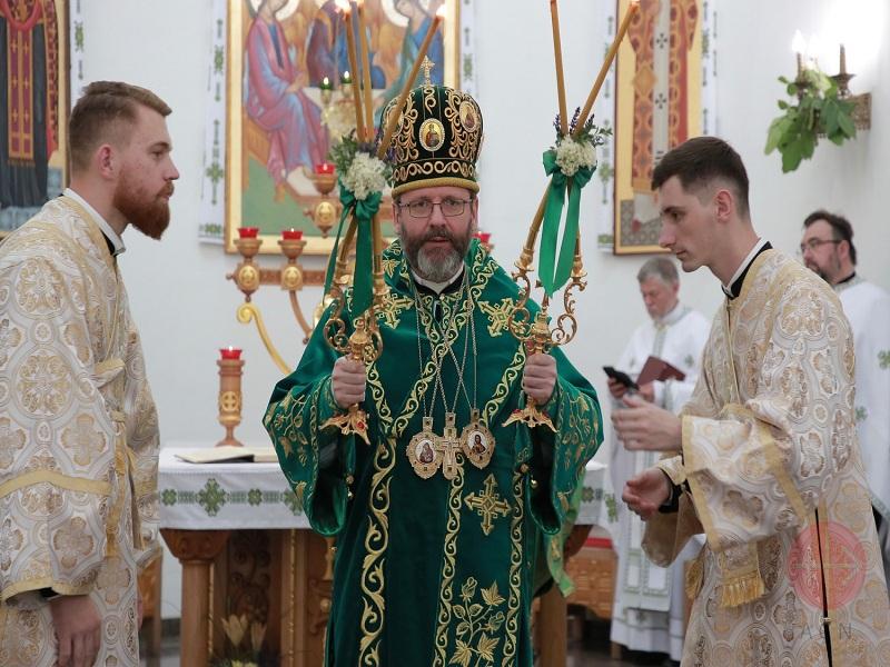 Ucrania obispo Sviatoslav Shevchuk web