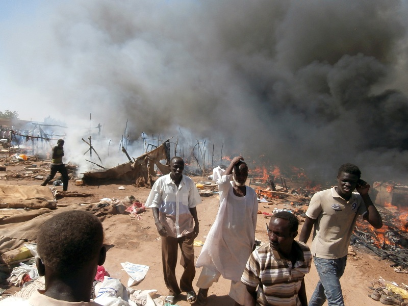 Assistance for basic needs of victims of the fire in Hajj Yousif (St Steven Parish)