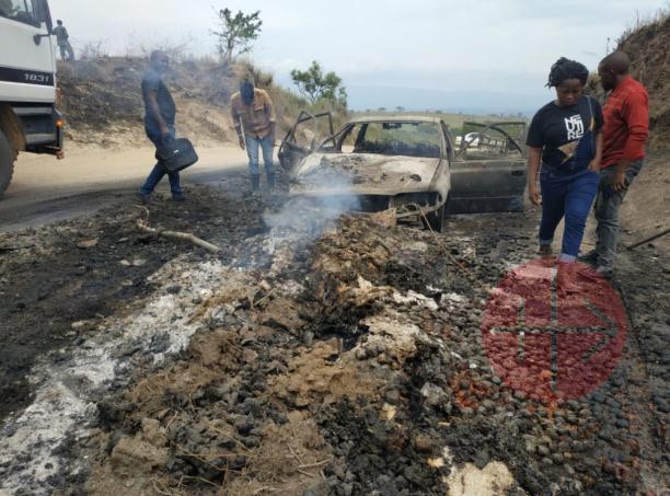Congo Butembo Beni ataque auto