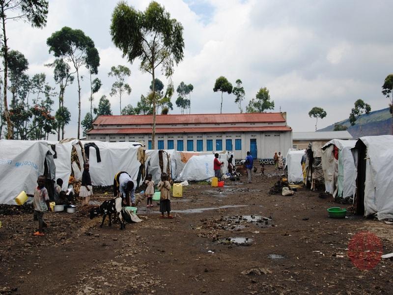 Congo campo de desplazadas en Goma web