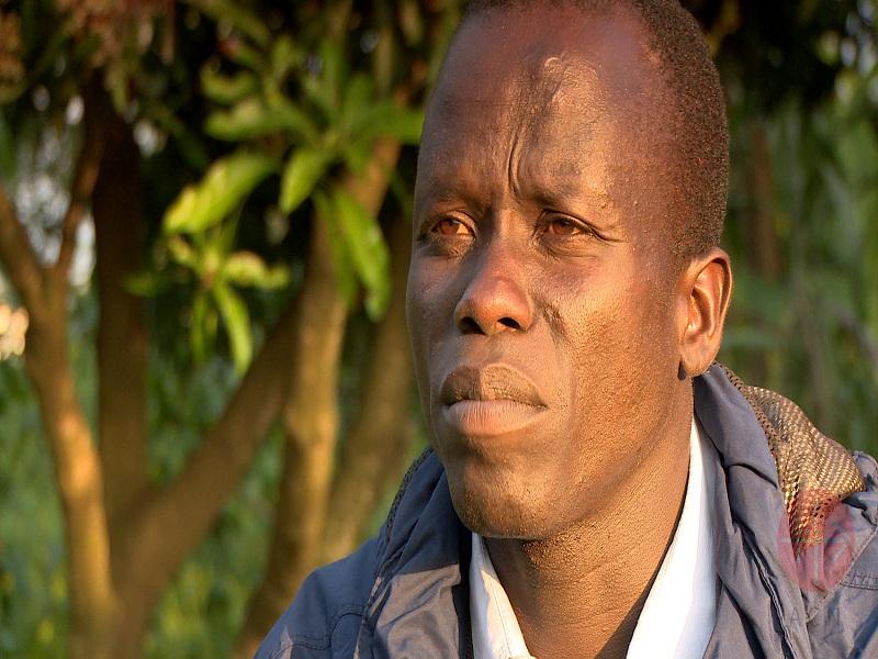 Sudán del Sur catequista John Joseph Gazi refugee from South Sudan at Bidi Bidi refugee settlement web