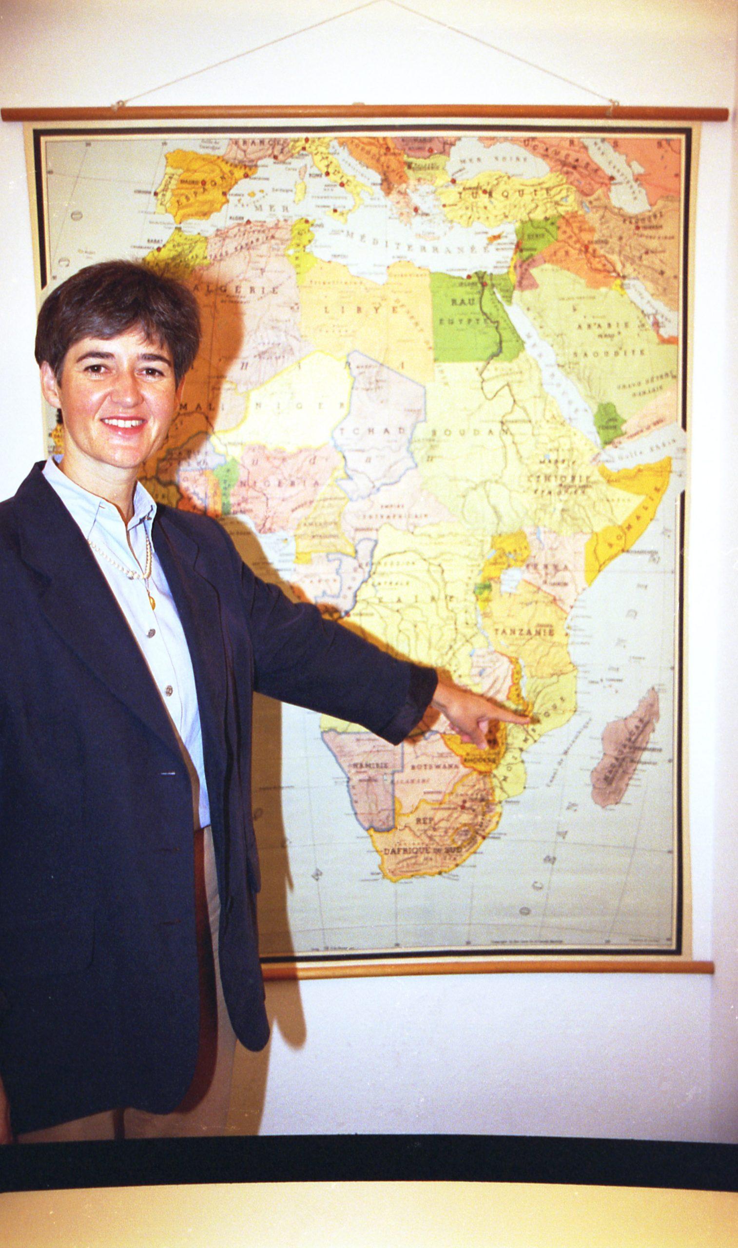 Christine du Coudray se jubila después de 28 años como responsable de África en ACN International