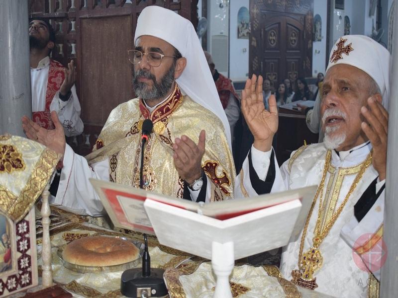 Egipto monseñor celebrando misa web