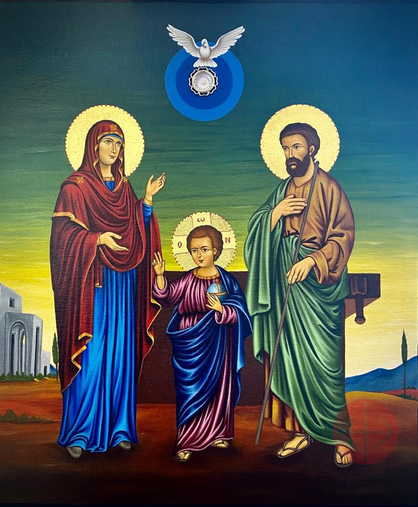Medio Oriente Icon of the Holy Family of Nazareth It will be blessed by Cardinal Pierbattista Pizzaballa in Jerusalem on June 27th 2021
