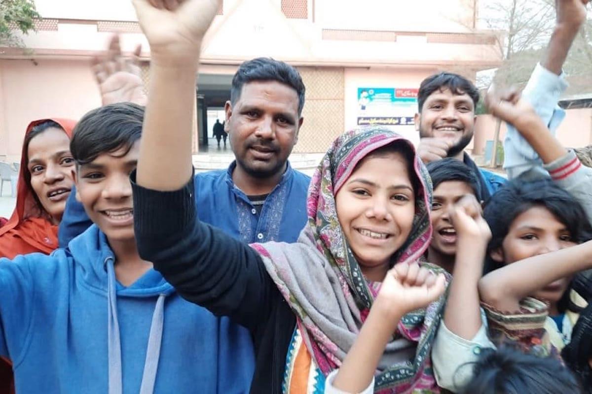 Niña pakistaní secuestrada