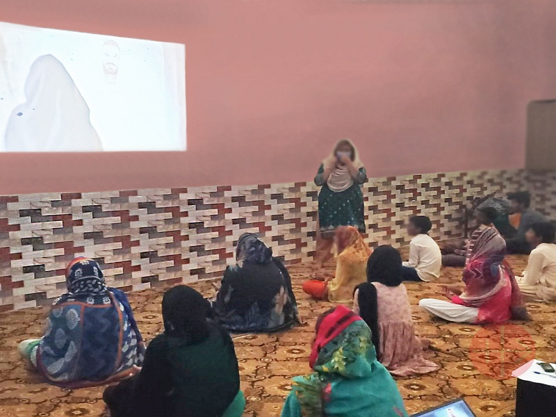 Pakistán capacitación a mujeres en lugares rurales web