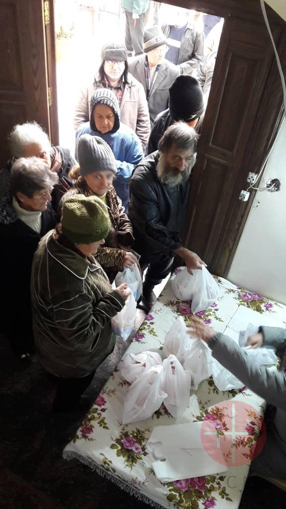 Siria entrega de comida