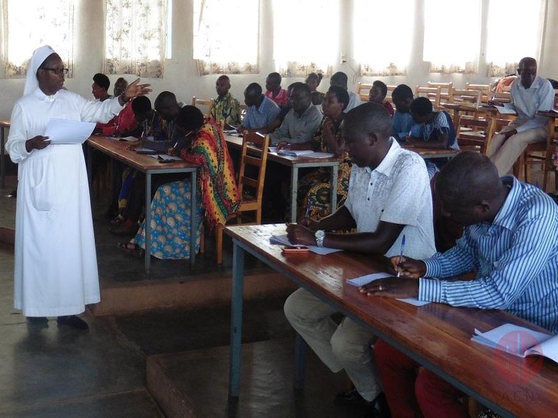 Burundi religiosa en clases web