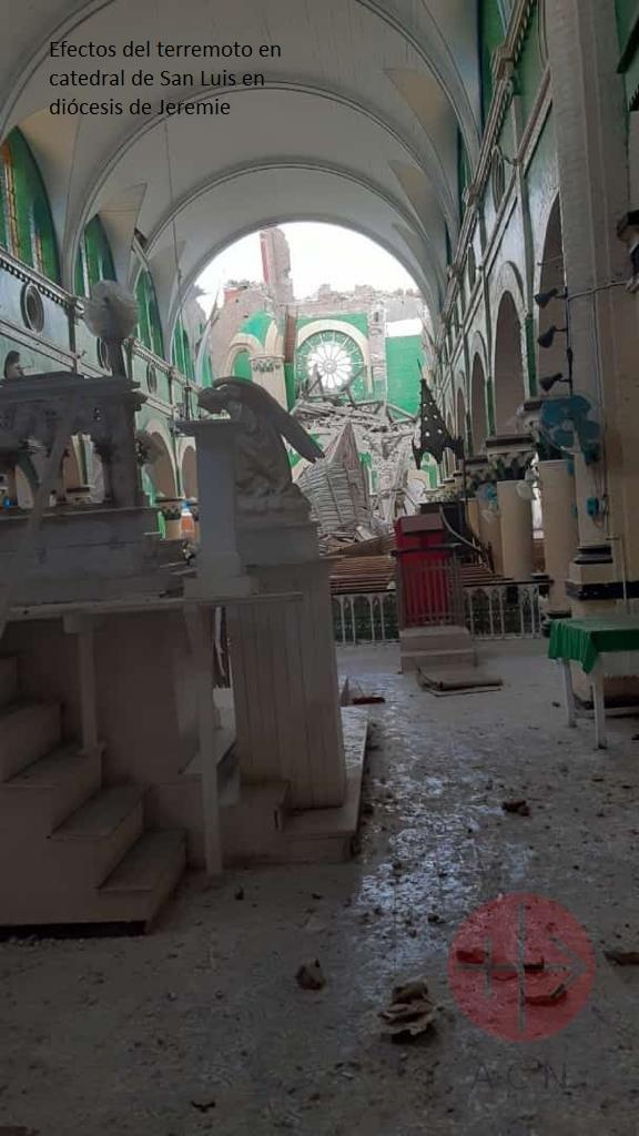Haití catedral de san luis