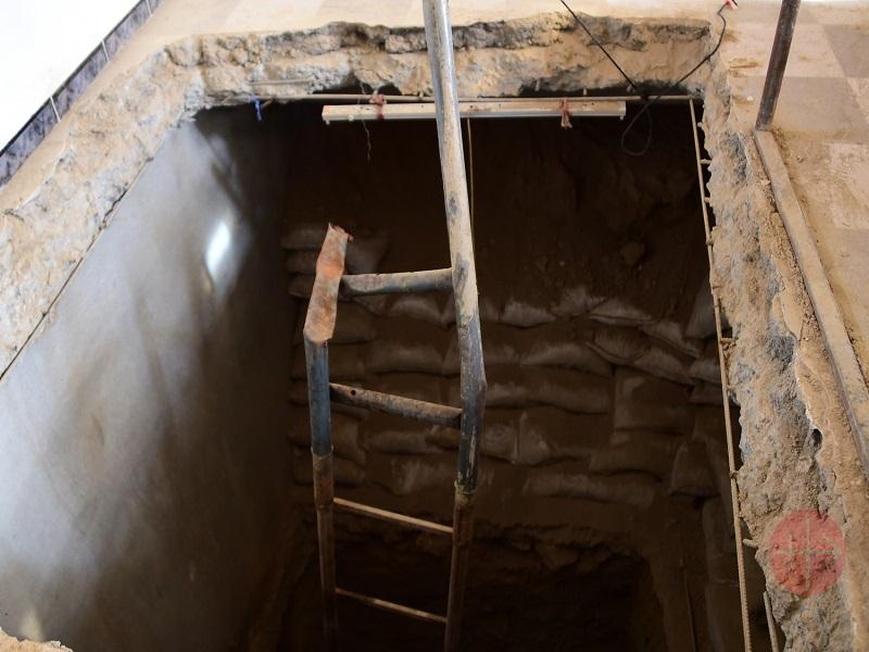 Irak Karamles tuneles bajo la ciudad