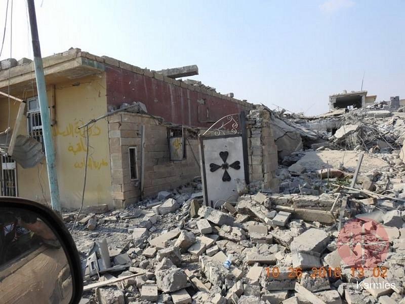 Irak destrozos despues de ISIS