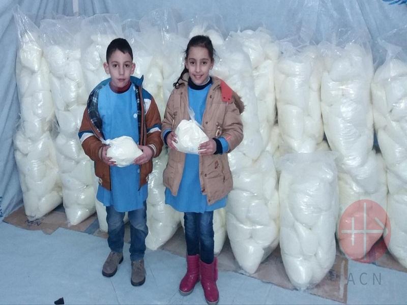 Siria gota de leche