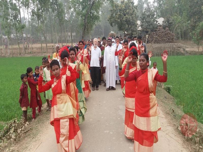 Banglades procesión