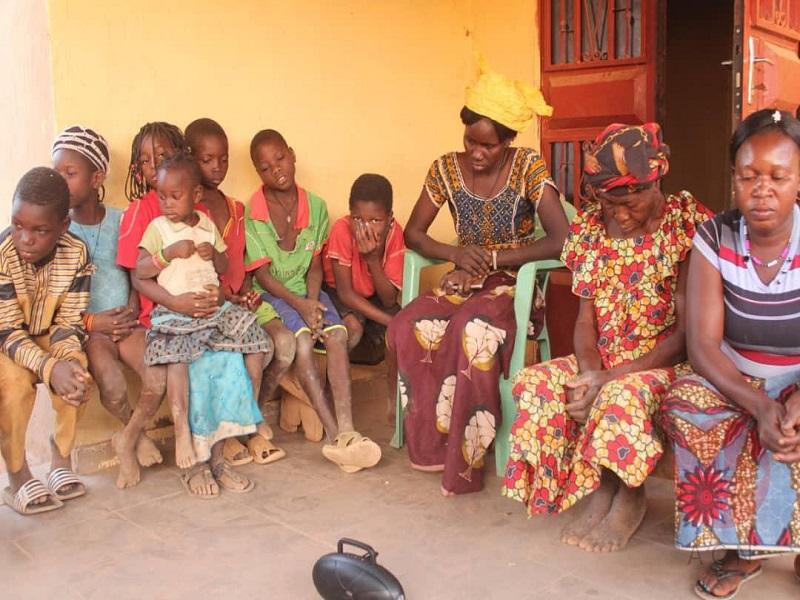 Burkina Faso familias