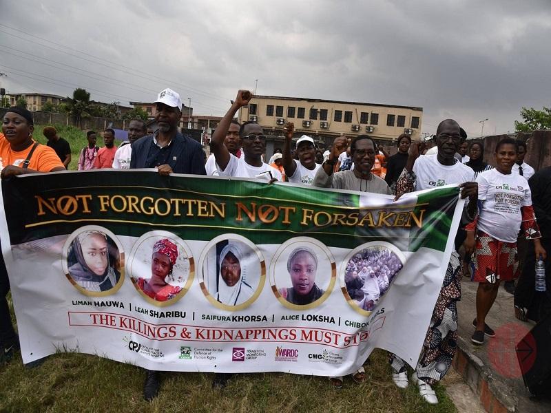 Nigeria protesta por raptos